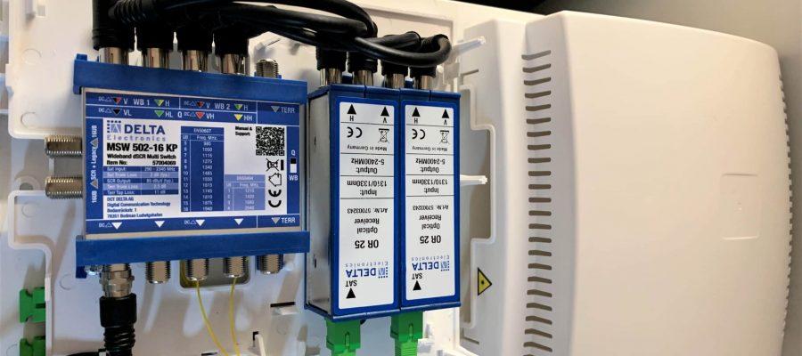 MSW 502-16 KP mit optischer Signalzuführung